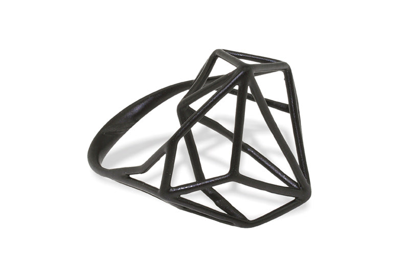 Osnat Har Noy Jewelry, geometric ring, architecture ring, triangle ring, designer ring, black geometric ring, architecture ring , geometric ring, black jewelry, designer ring, unique geometric ring