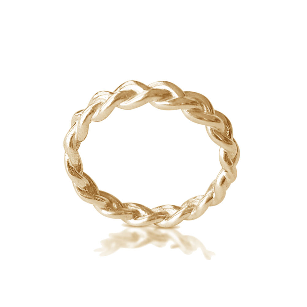 Yellow Gold Braided Ring, Dainty Braid ring, Matching Wedding Band, Twisted Wedding Band, Braided Wedding Band, best selling ring, trending now