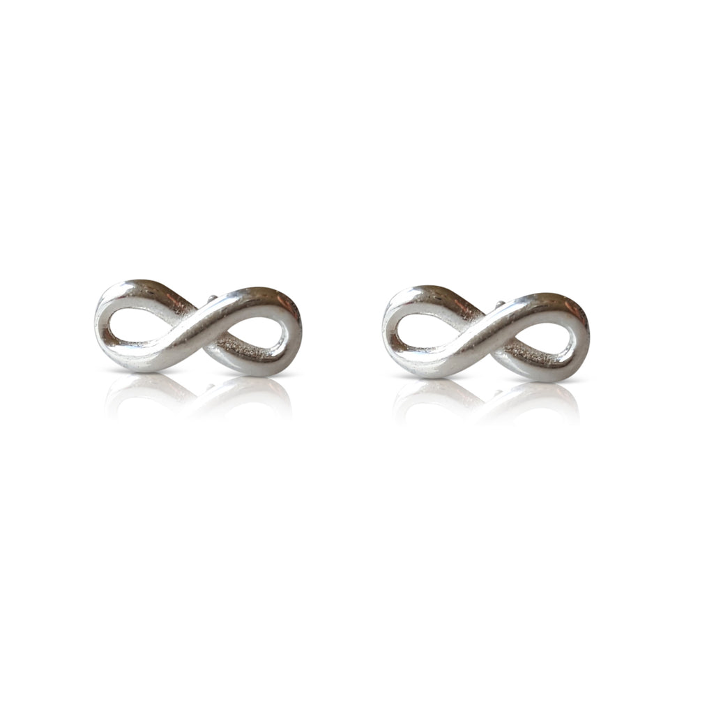 infinity earrings, infinity stud earrings, infinity jewelry, infinity post, infinity gold earrings, infinity