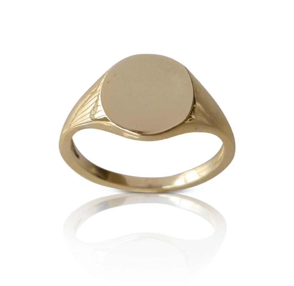 pinky signet ring, 14k pinky signer, solid gold signet ring women, 14k women signet ring, solid gold signet band