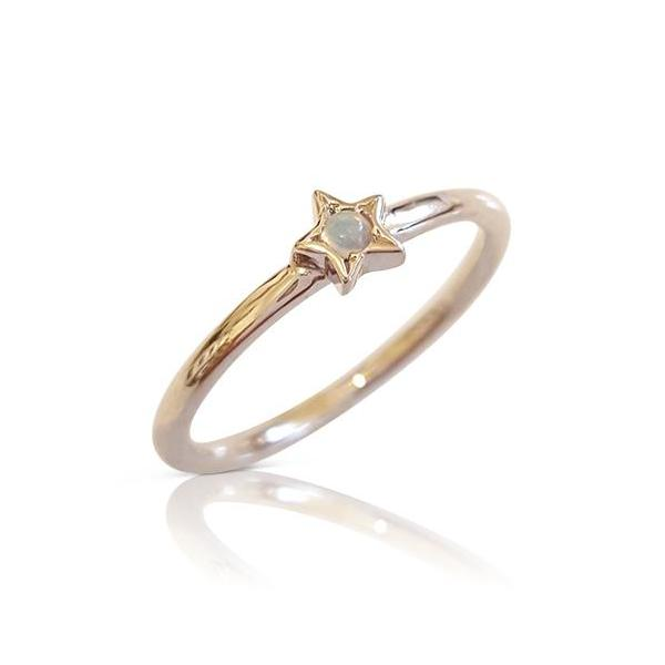 star ring with opal, opal gold ring, opal engagemnt ring, opal 14k ring, opal star ring, opal stacker ring