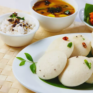 Idli with an Awadhi & Chinese Twist