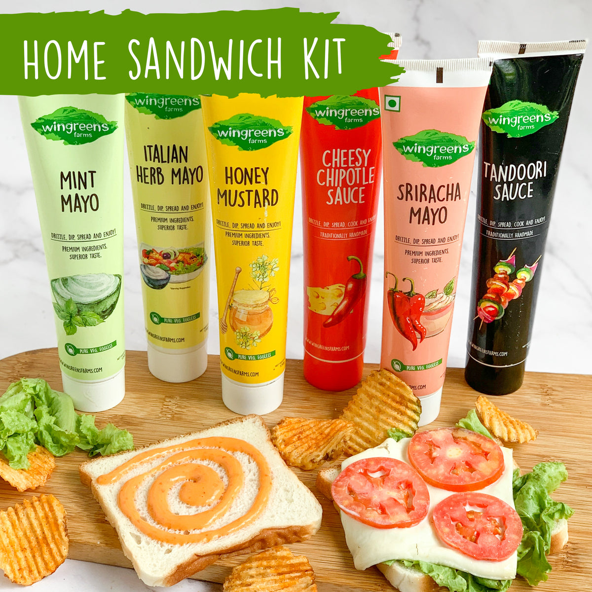 Home Sandwich Kit