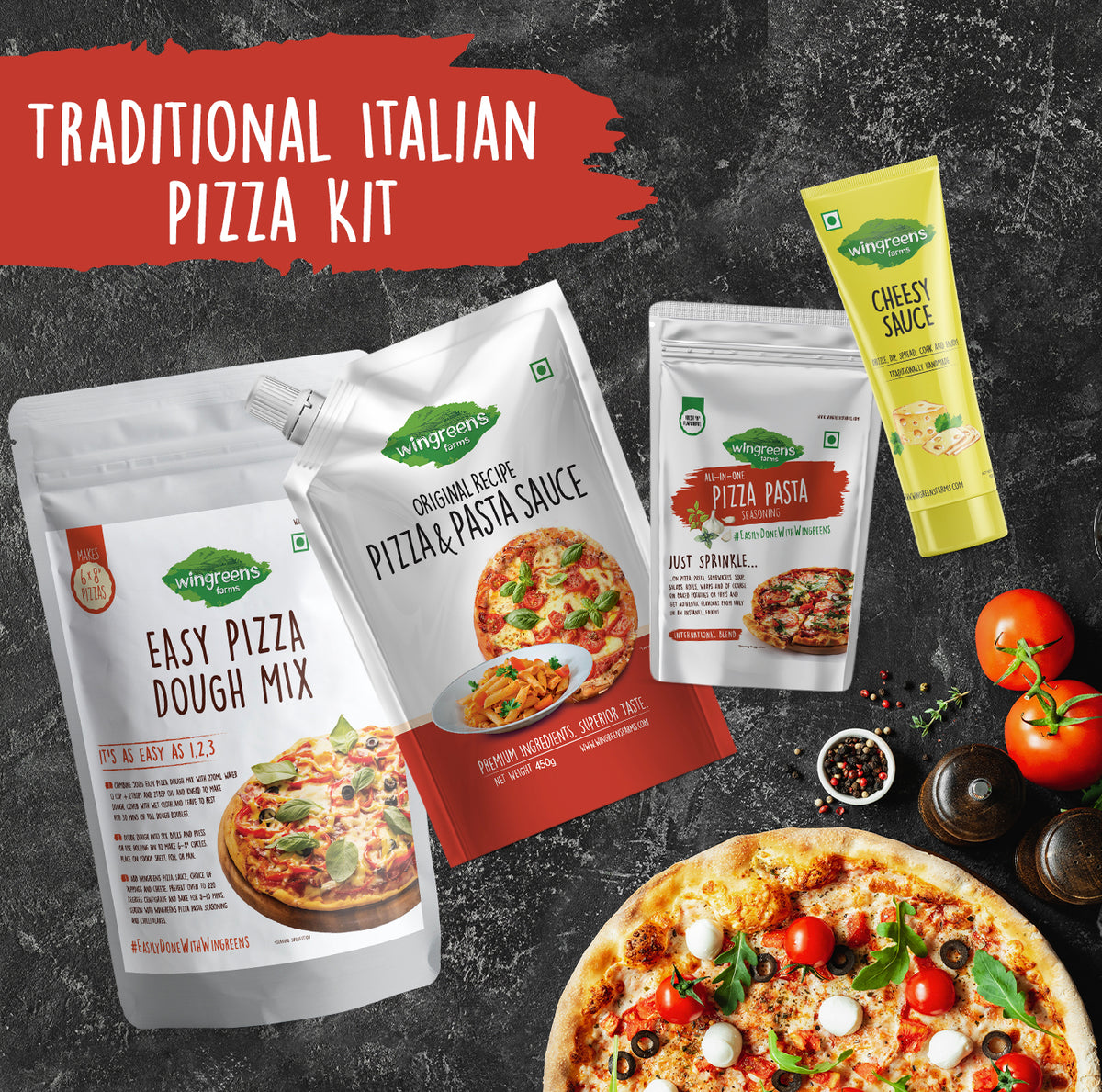 Traditional Italian Pizza Kit