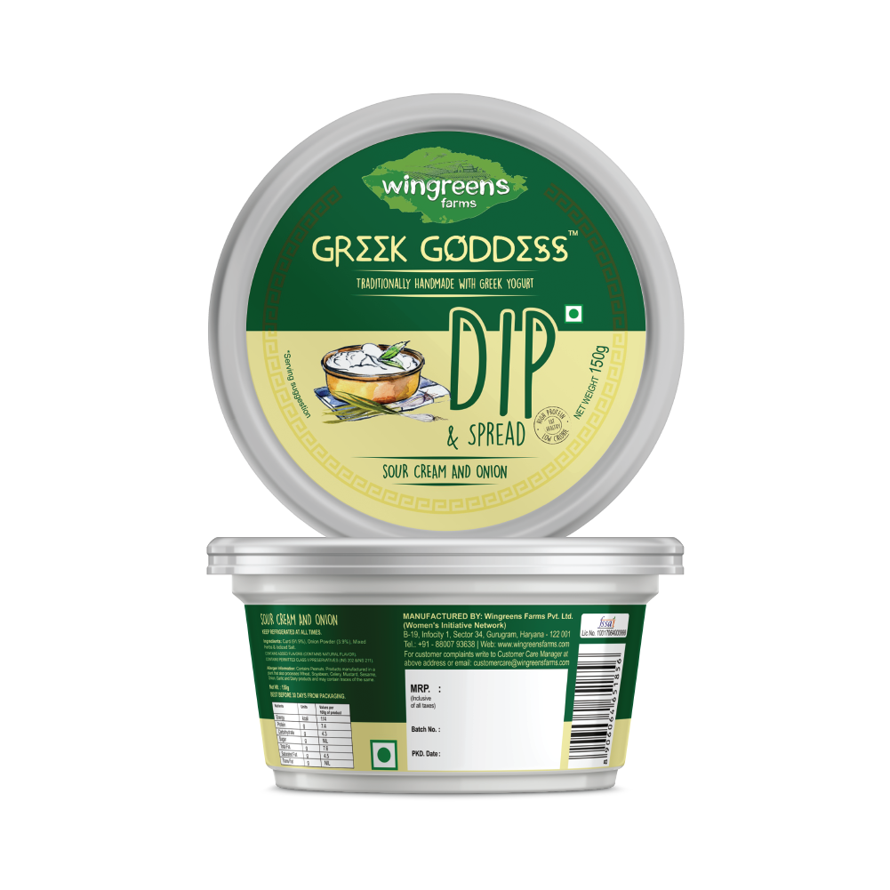 Sour Cream and Onion Greek Goddess Dip & Spread