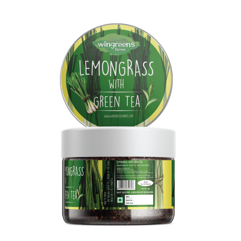 Lemongrass with Green Tea