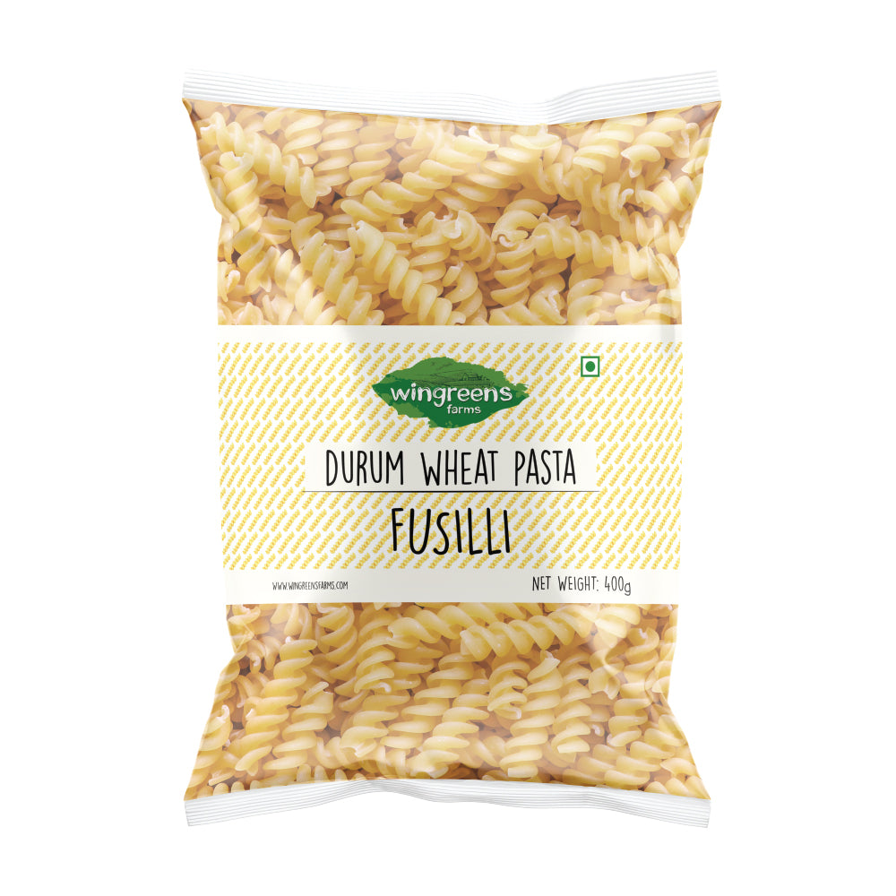 Durum Wheat Pasta - Fusilli (400g) with All-in-One White Sauce with Herbs (50g)