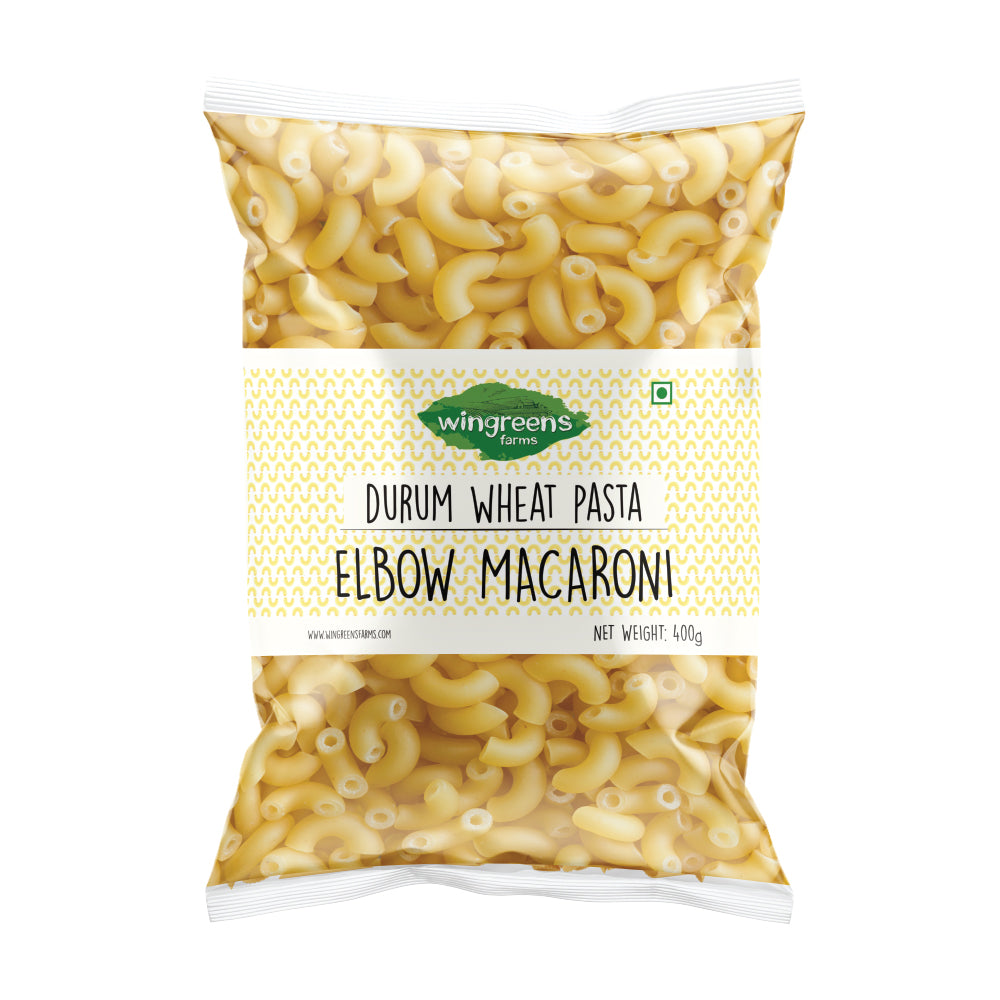 Durum Wheat Pasta - Elbow Macaroni (400g) with Pizza Pasta Sauce (450g)