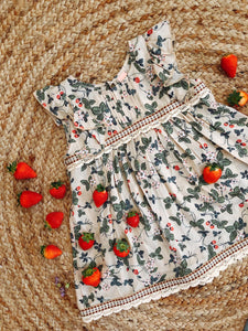 Sienna Top - Strawberry