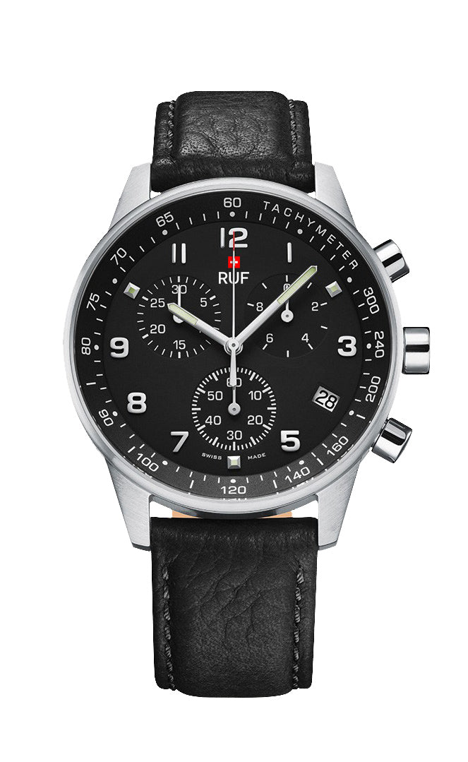 Pilot Sport 41 mm, Black/BL