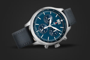 Pilot Sport 48mm in Blue