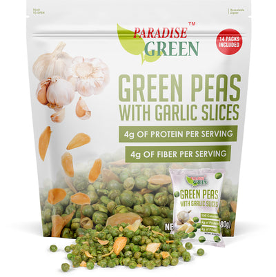Green Peas with Garlic Slices 9.9oz