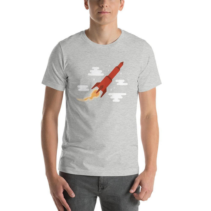 Blast Off! T-Shirt Shirts Athletic Heather / S Boostopia