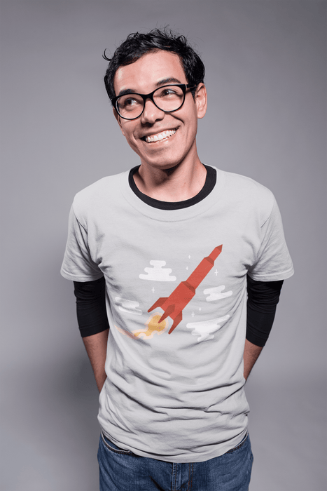 Blast Off! T-Shirt Shirts Boostopia