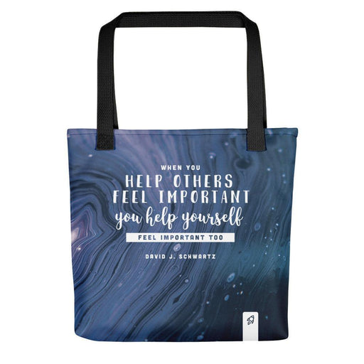Feel Important Tote bag Totes Default Title Boostopia