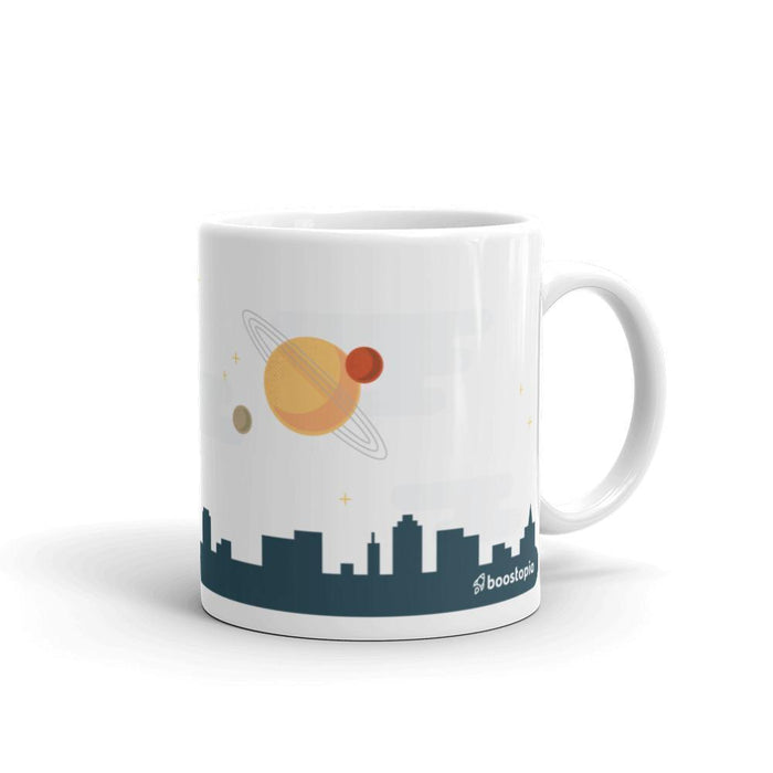 Just Over the Horizon Mug Mugs 11oz Boostopia