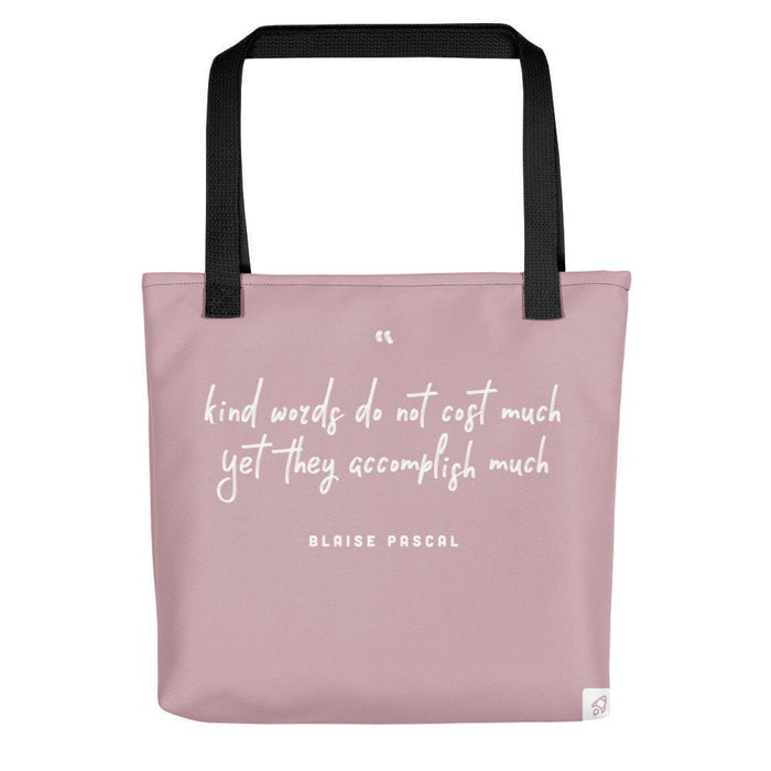 Kind Words Don't Cost Much Tote bag Totes Default Title Boostopia