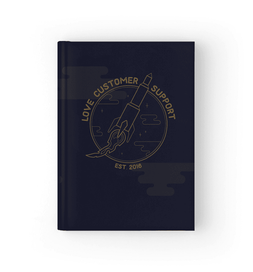 Love Customer Support Journal Journal Boostopia