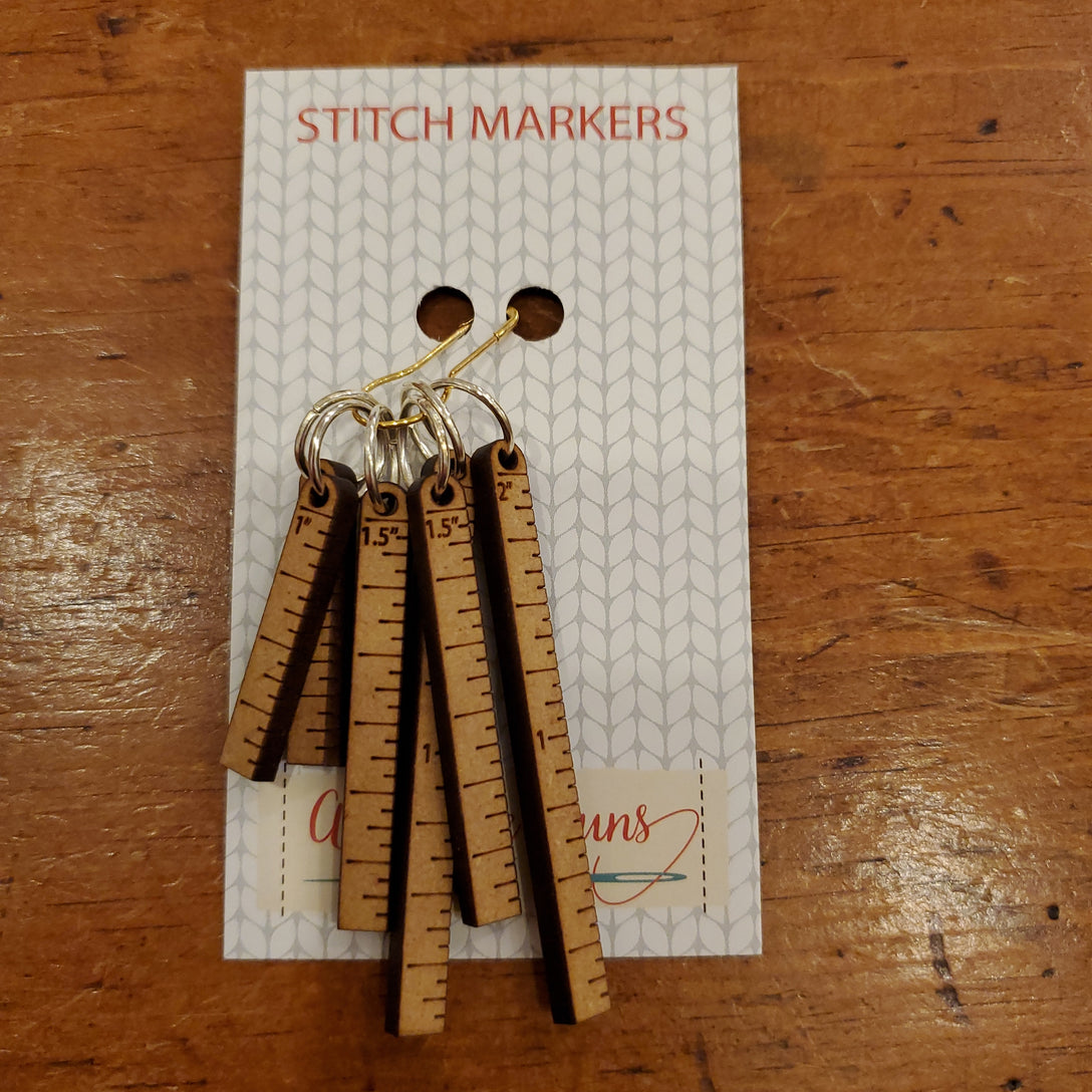 Stitch Markers - Little Rulers