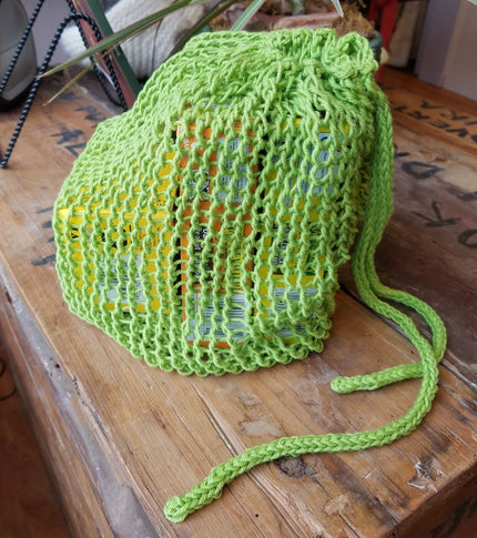 Knitted Grocery Bag