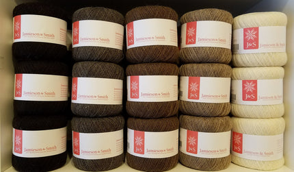 Jamieson & Smith - Cobweb Supreme 1-ply