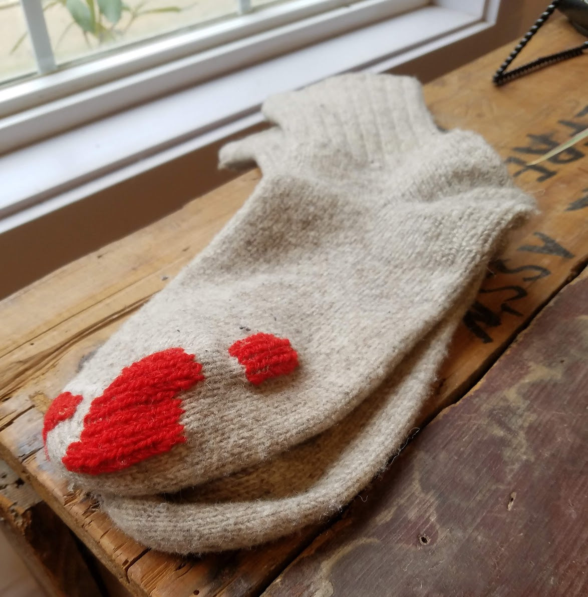 Intro to Sock Darning