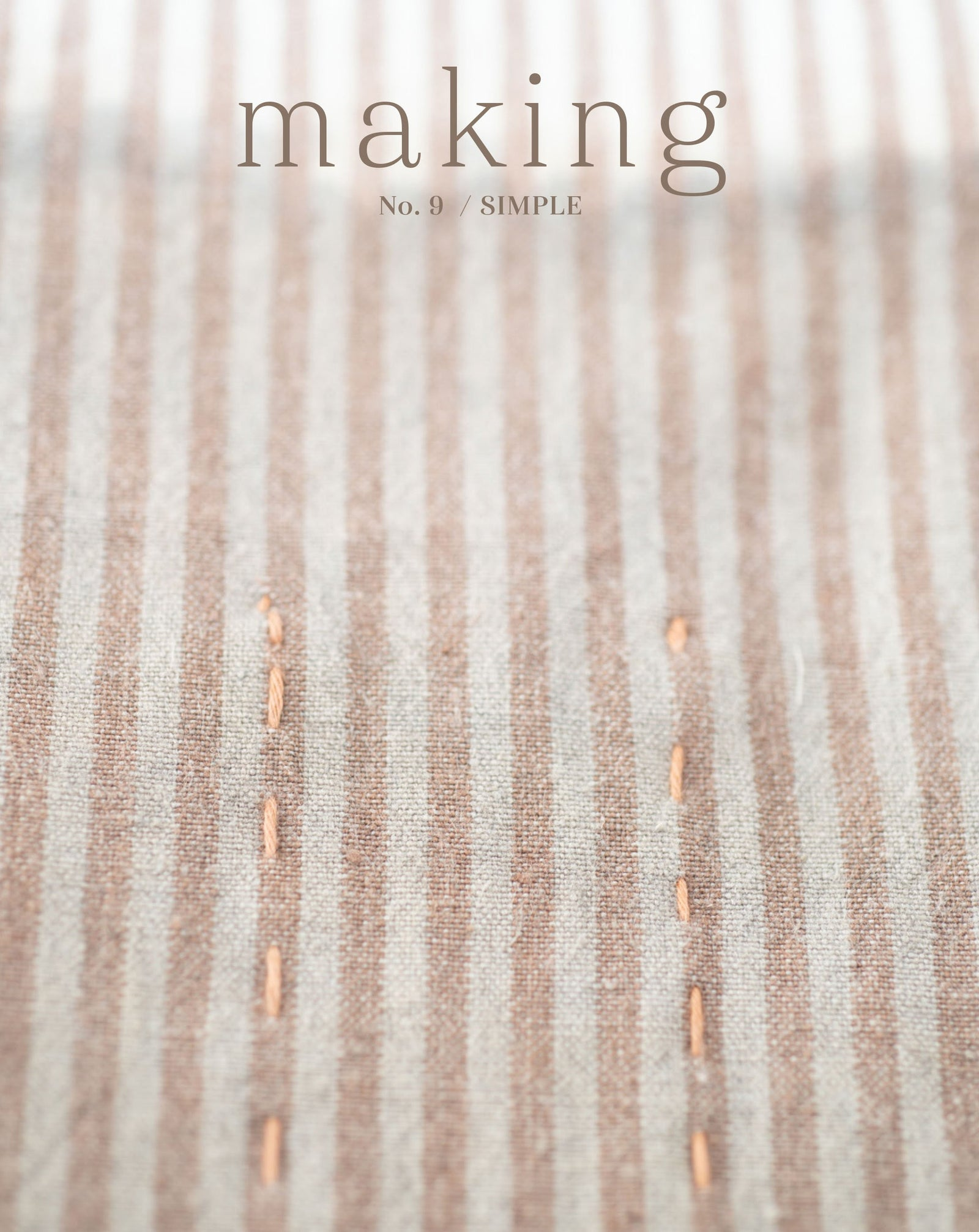 Making Magazine No. 9 Simple