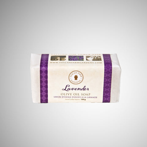 lavender all natural soap image