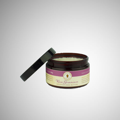 Rose Geranium Whipped Shea Butter
