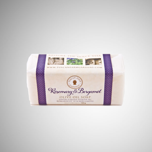 olive oil soap bergamont rosemary picture
