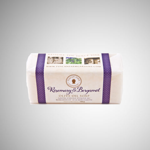 Rosemary & Bergamot Olive Oil Soap