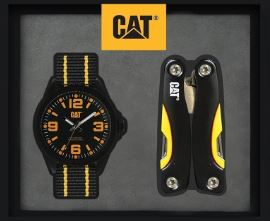RELOJ CATERPILLAR YELLOW 05.160.67.137 SET CON PINZAS MULTIUSOS