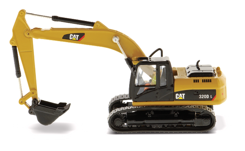 EXCAVADORA CAT 320D L ESCALA 1:87