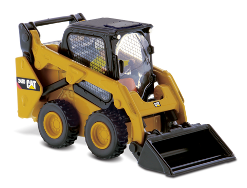 MINICARGADOR CAT 242D, ESCALA 1:50