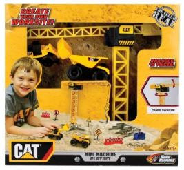 TOY STATE CAT MINI MACHINES PLAYSET