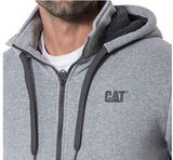 SUDADERA CASUAL CATERPILLAR GRIS
