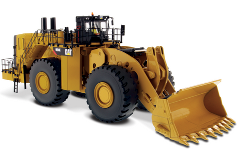CARGADOR DE RUEDAS CAT 994K YELLOW ESCALA 1:50