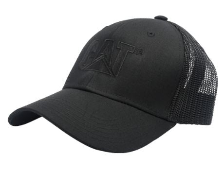 CAP MALLA BLACK /BLACK CAT