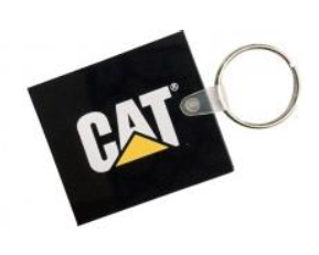 KEYRING RECTANGLE CAT-000578