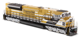 EMD-SD70Ace-T4-Locomotive-(Yellow/Black)-1:87,-DIECAST-MASTERS