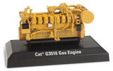 G3516-CAT-GENERADOR-1:25,-G3516-Gas-Engine,-DIESCAST-MASTERS