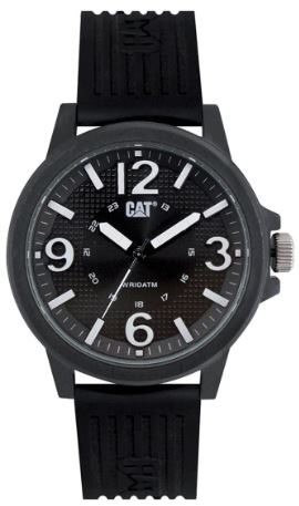 RELOJ CAT GROVY BLACK/WHITE LF.111.21.131
