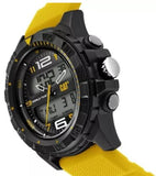 RELOJ CAT BASECAMP YELLOW MC.155.27.137