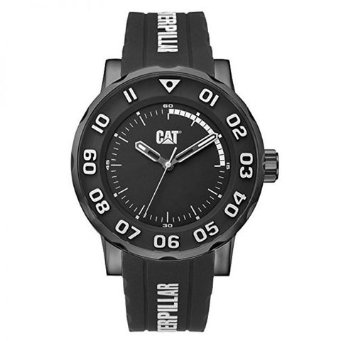 Reloj para caballero CAT modelo NM.161.22.112, color negro extensible de caucho