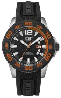RELOJ CAT DRIVER DATE ORANGE PW.141.21.128