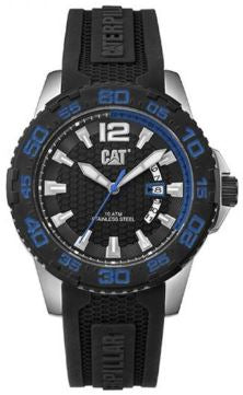 RELOJ CAT DRIVER DATE BLUE PW.141.21.126