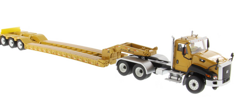 LOWBOY TRAILER XL CAT CT660 ESCALA 1:50