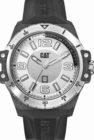 RELOJ CAT NOMAD SILVER CARBON K0.111.21.232