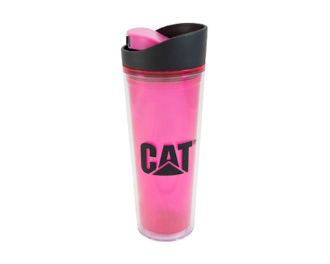 Termo rosa CAT de acero inoxidable