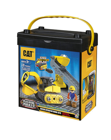 TOY STATE ARMABLE EXCAVADORA CAT